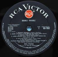 ELVIS PRESLEY Double Trouble Vinyl Record LP RCA Victor 1967